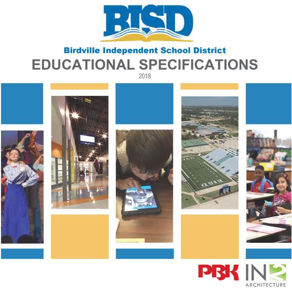 Birdville Isd School Educational Specifications In2 Architecture