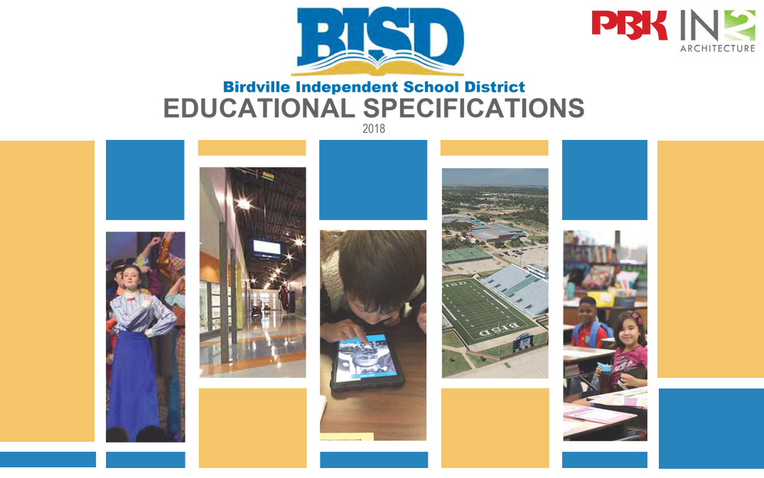 Birdville Isd School Educational Specifications In2 Architecture